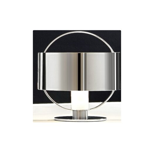 "Zaneen Lighting Ring 6.13"" H Table Lamp with Drum Shade"
