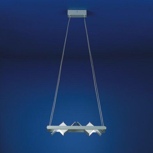 Zaneen Lighting Loft Two Light Ceiling Pendant