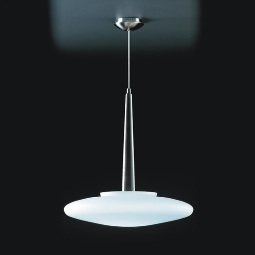Zaneen Lighting Dione Pendant in Brushed Nickel