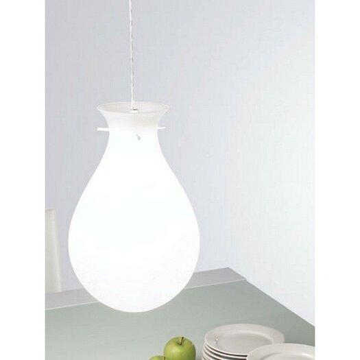 Zaneen Lighting Ona Pendant With White Acrylic Glass