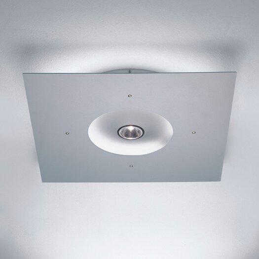 Zaneen Lighting Ixion Square Ceiling Semi Flush Mount