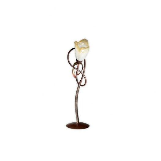 "Zaneen Lighting Lombardia Single Light 26"" H Table Lamp with Bowl Shade"