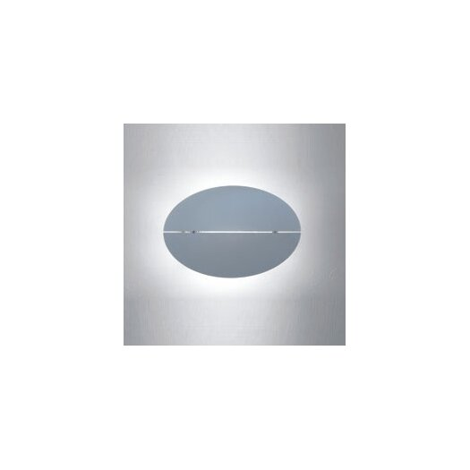 Zaneen Lighting Wall Oval Contemporary 1 Light Wall Sconce with Horizontal Gap