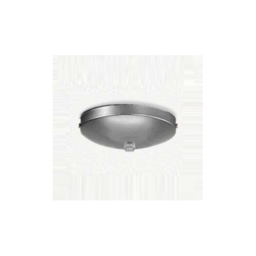 Zaneen Lighting Single Pendant Accessory Canopy in Metallic Gray