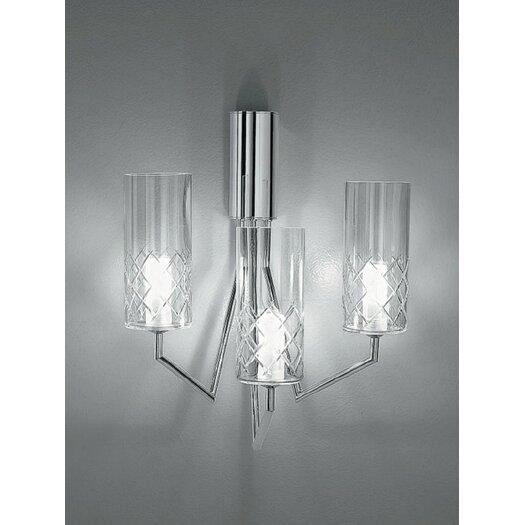 Zaneen Lighting Bri-Bri 3 Light Wall Sconce