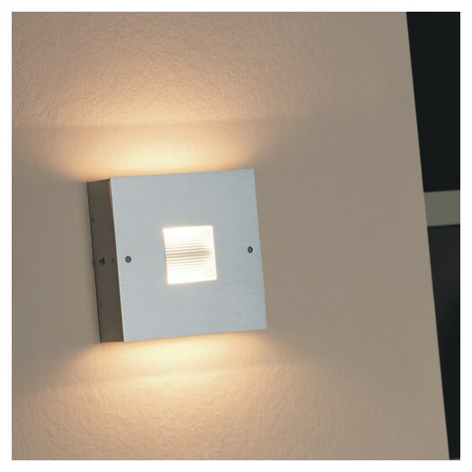"Zaneen Lighting Finestra 6"" Contemporary Square 2 Light Wall Sconce"