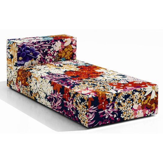 Missoni Home Nap Fabric Chaise Longue