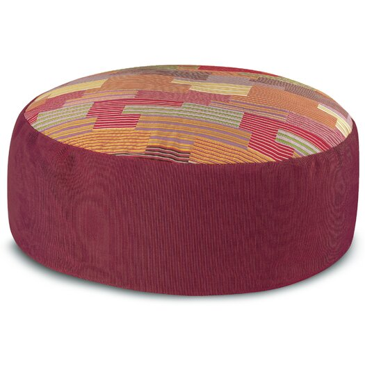 Missoni Home Murrine Nesmoth PW Pouf Ottoman
