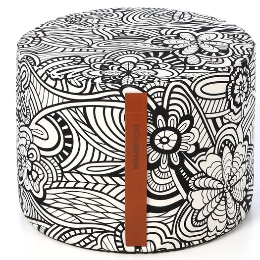 Missoni Home Tobago Pouf Ottoman