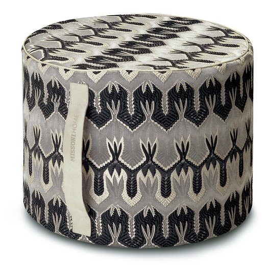Missoni Home Papavero Patch Ormond Pouf Ottoman