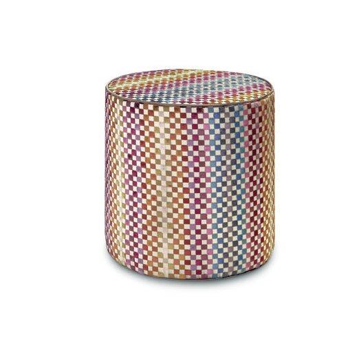 Maseko Cylindrical Pouf Ottoman