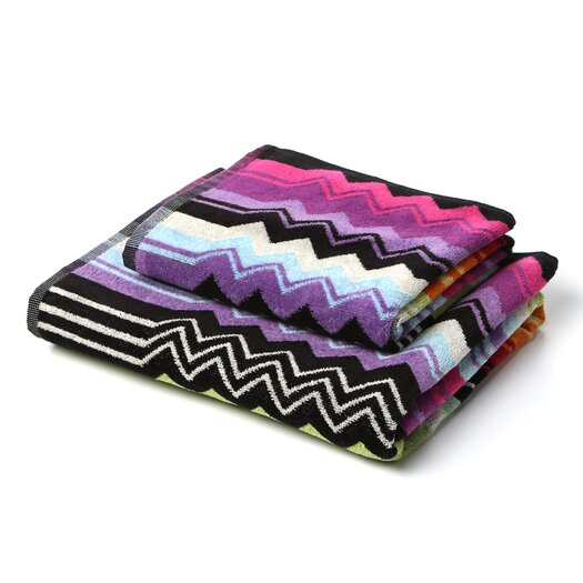 Missoni Stan Hand Towel: Missoni Home Giacomo Hand & Bath Towel Set