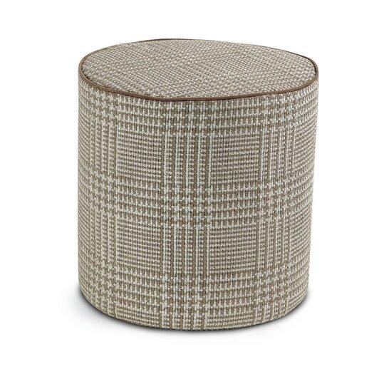 Nalco Cylindrical Pouf Ottoman