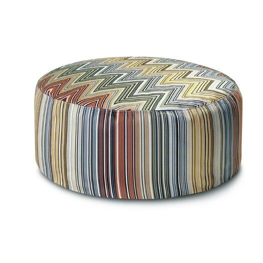 Missoni Home Master Moderno Trevira 160 Osage Pouf Bean Bag Chair