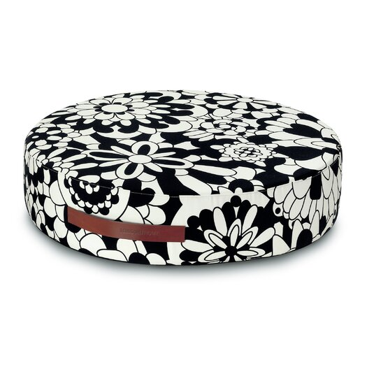 Missoni Home Vevey B and N Round Floor Cushion