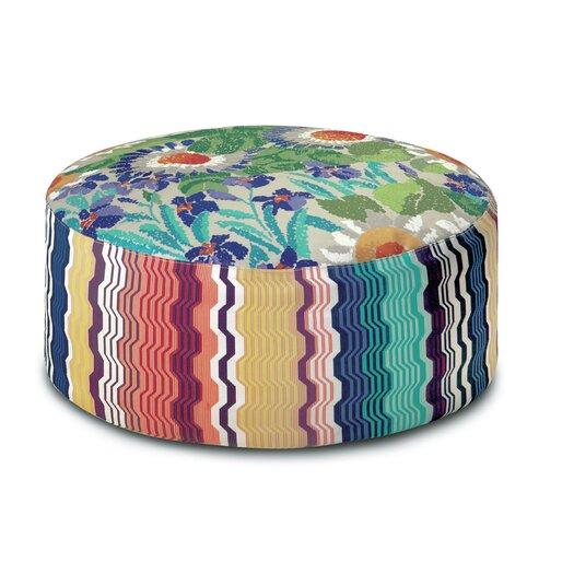 Ocala Patchwork Pouf Bean Bag Chair