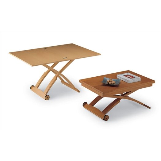 Coffee Table Extendable Legs: Calligaris Mascotte Coffee Table