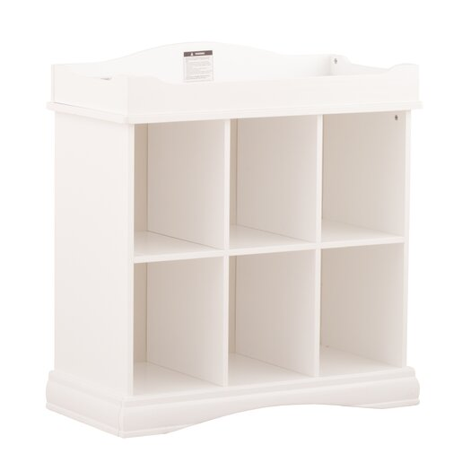 Storkcraft Beatrice 6 Cube Organizer & Changing Table