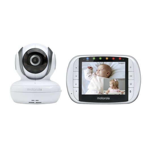 "Motorola Digital Video Baby Monitor with 3.5"" LCD Screen"