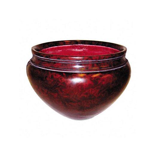 "Nudell Plastics Fiberglass Floor Pot for Artifical Trees, 16"" Diameter"