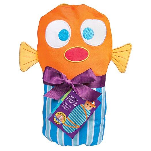 Sozo Fish Swaddle Blanket and Cap Set