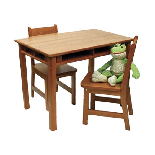 Lipper International Kids' Table and Chair Set IV