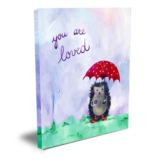 CiCi Art Factory Words of Wisdom You are Loved Canvas Art