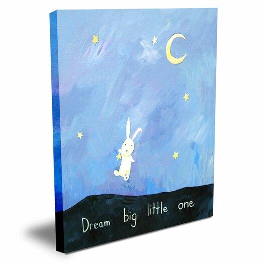 CiCi Art Factory Words of Wisdom Dream Big Little One Canvas Art
