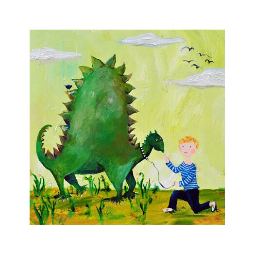 Wit & Whimsy Dino Canvas Art