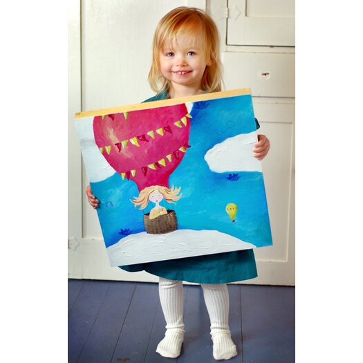 CiCi Art Factory Wit & Whimsy Up Up and Away Canvas Art