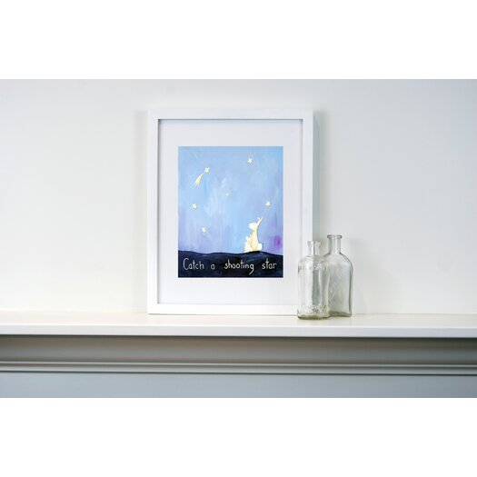 CiCi Art Factory Words of Wisdom Catch a Shooting Star Paper Print