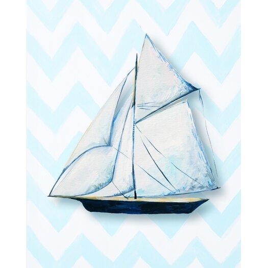 Nautical Ship Paper Print