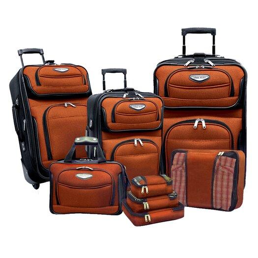 Traveler's Choice Amsterdam II 8 Piece Luggage Set