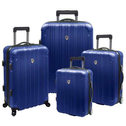 Traveler's Choice New Luxembourg 4 Piece Expandable Hard-Sided Luggage Set