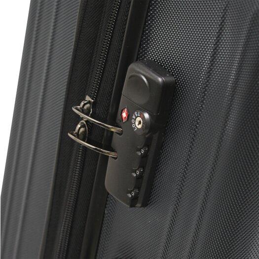 """Traveler's Choice Tasmania 21"""" Hardsided Expandable Spinner Suitcase"""