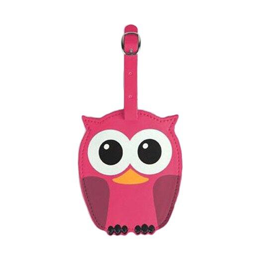 Kikkerland Whoo Owl Luggage Tags