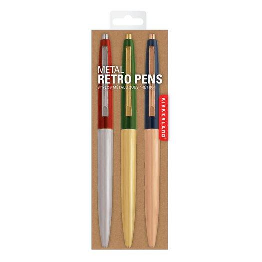 Retro Metallic Pen (Set of 5)