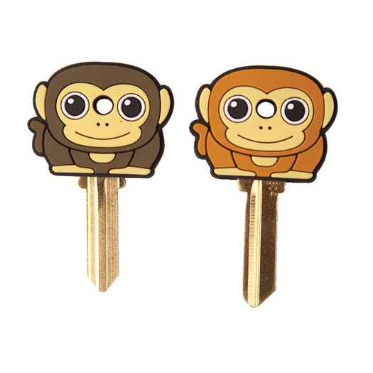 Kikkerland Accessories Keycap Monkey