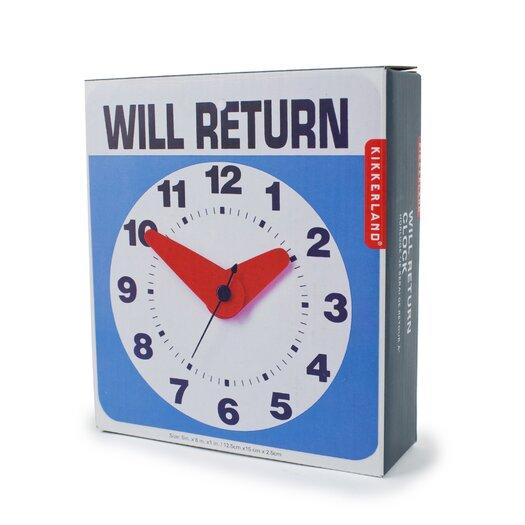 Kikkerland Will Return Clock