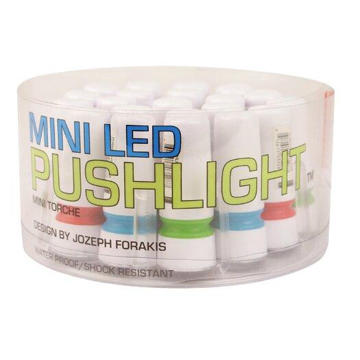 Kikkerland Push Light Flashlight