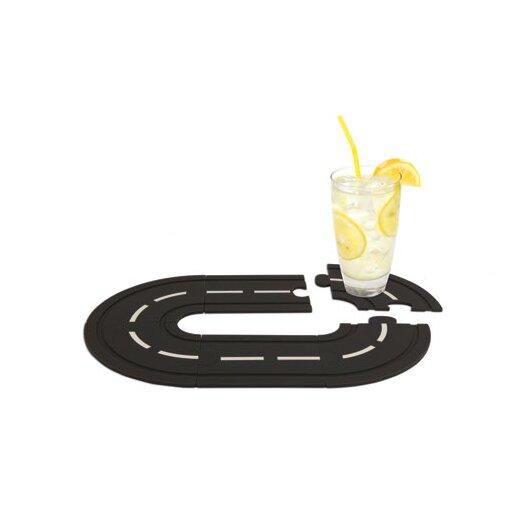 Race Track Cork Coasters (Set of 5)