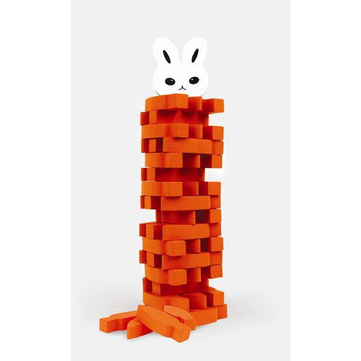 Kikkerland Stack the Carrots Game