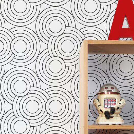 Aimee Wilder Wallpaper: Aimee Wilder Designs Diorama Crop Circles 15' X 21