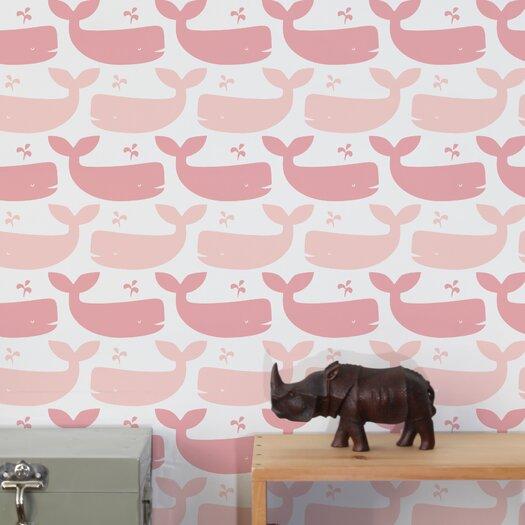 Aimee Wilder Wallpaper: Aimee Wilder Designs Whales Wallpaper