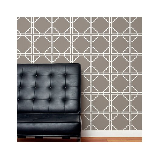 Aimee Wilder Designs Asian Trellis Wallpaper
