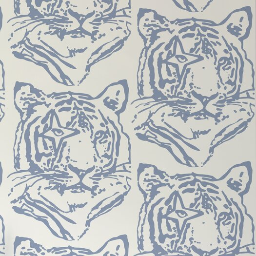 Aimee Wilder Designs Star Tiger Wallpaper