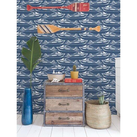 Aimee Wilder Designs Boating Sample Wallpaper