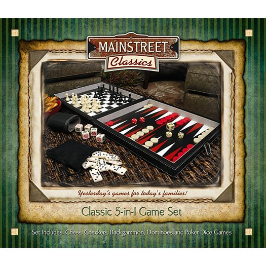 Main Street Classics Five in One Combo Game