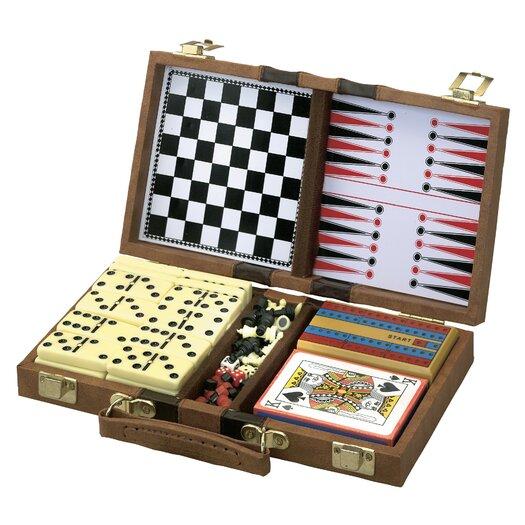 Main Street Classics 6-in-1 Game Set