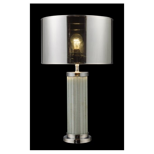 "Dimond Lighting Mont Alto 24"" H Table Lamp with Drum Shade"